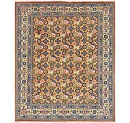 Link to 6' 8 x 8' Varamin Persian Rug