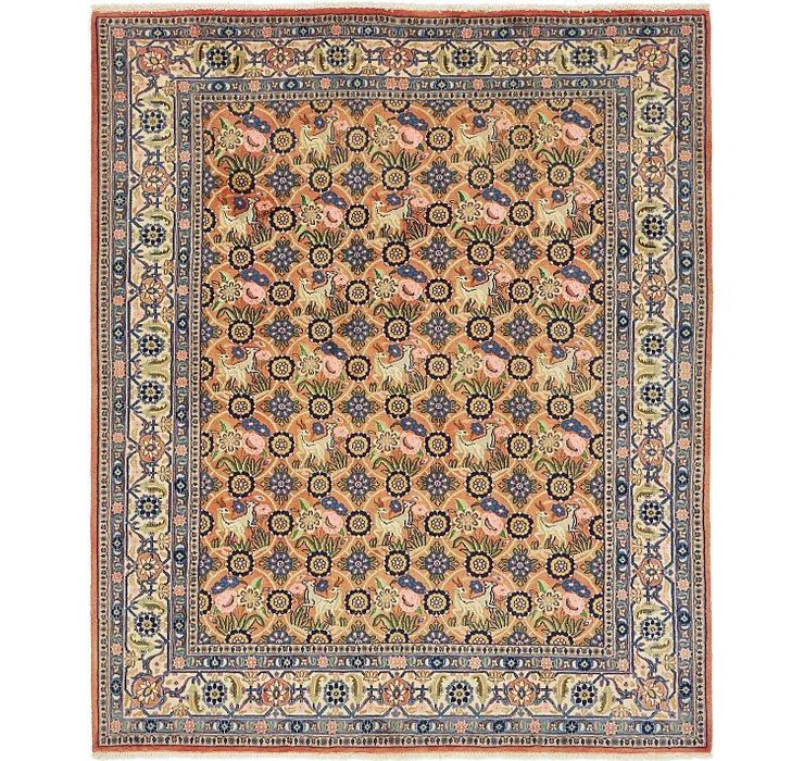 6' 8 x 8' Varamin Persian Rug