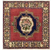 Link to 6' 7 x 6' 9 Bakhtiar Persian Square Rug