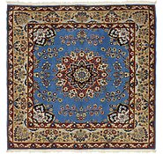 Link to 6' 6 x 6' 8 Mashad Persian Square Rug