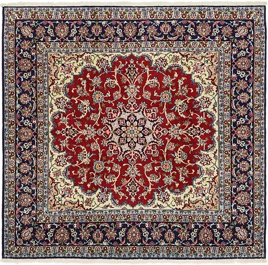 Persian Rugs Australia: Red 200cm X 205cm Mood Persian Square Rug