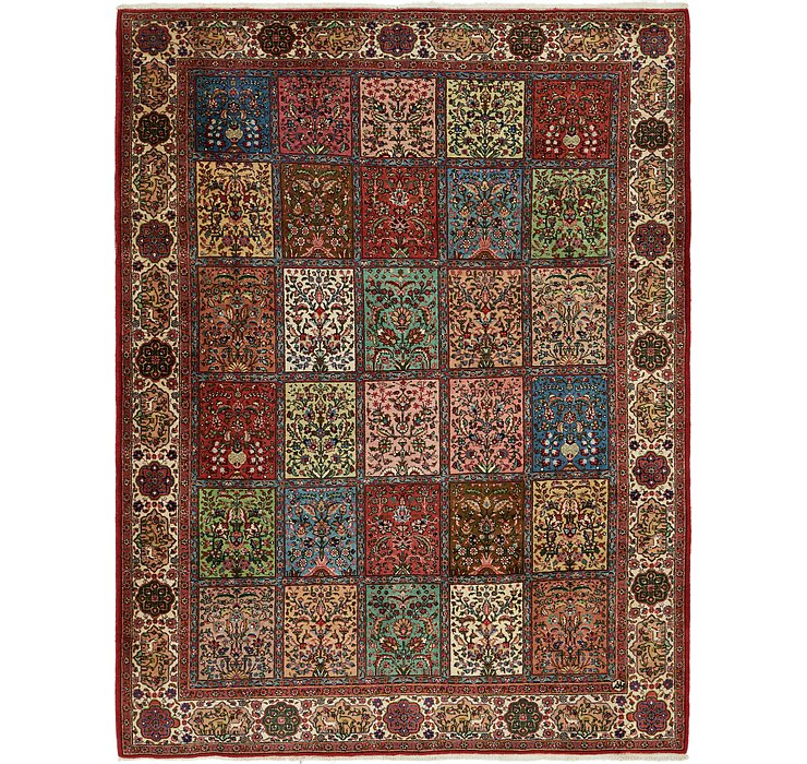 9' 6 x 11' 8 Sarough Persian Rug