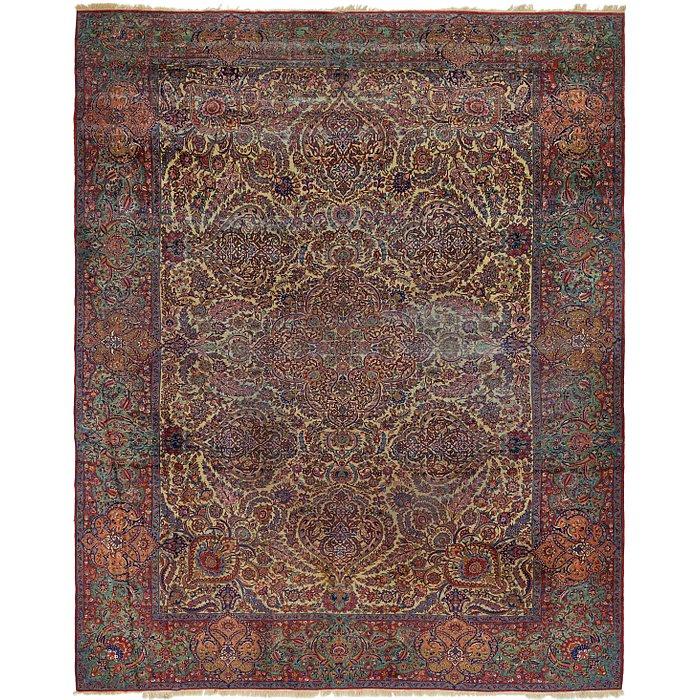 12' 10 x 16' 3 Sarough Persian Rug