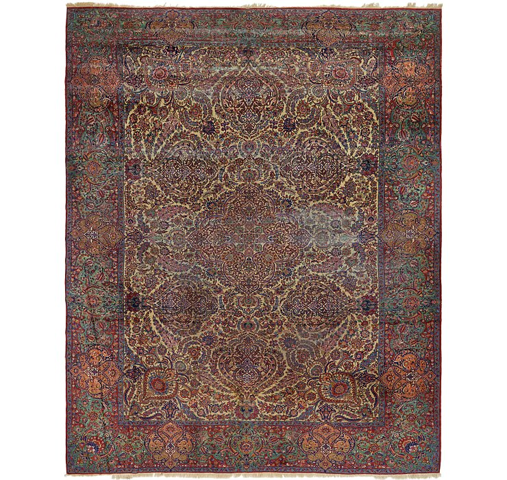 12' 10 x 16' 3 Sarough Persian Rug