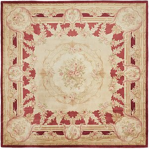 13' 2 x 13' 2 Antique Finish Square Rug