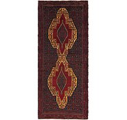 Link to 3' 9 x 9' 3 Songhor Persian Runner Rug