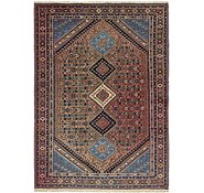 Link to 7' x 9' 7 Yalameh Persian Rug