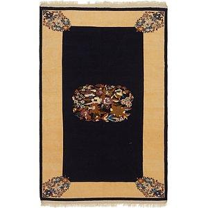 195cm x 312cm Ghoochan Persian Rug