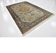 Link to 6' x 9' Qom Persian Rug