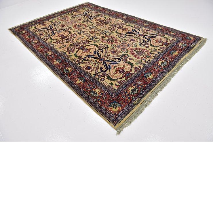 6' 6 x 9' 6 Sarough Oriental Rug