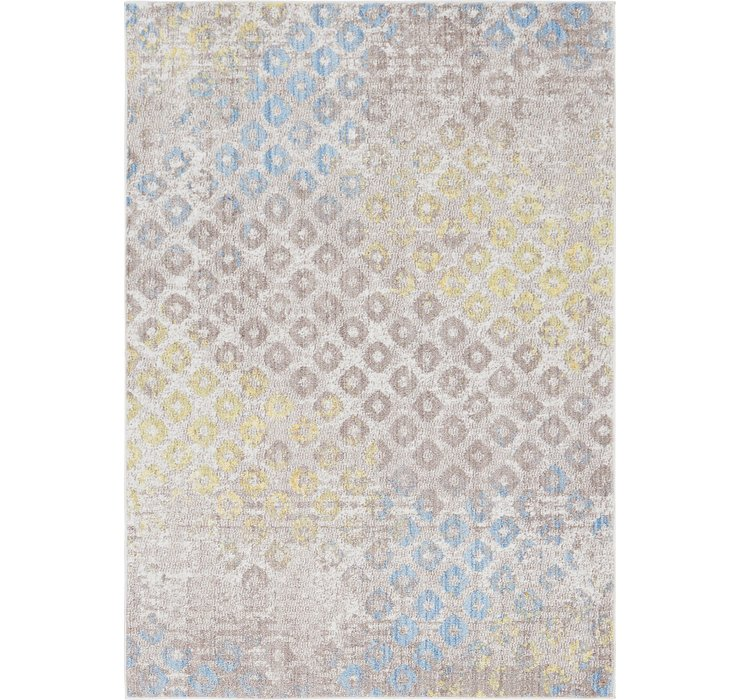 Jill Zarin 5' 3 x 7' 6 Downtown Collection Rug