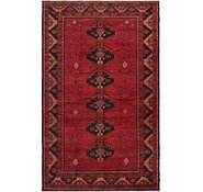 Link to 4' 8 x 8' Shiraz Persian Rug