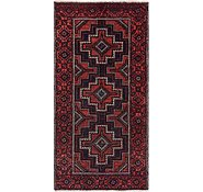 Link to 3' 10 x 7' 7 Chenar Persian Runner Rug