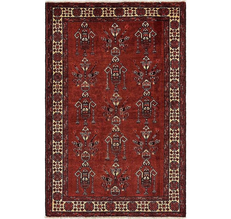 4' 3 x 6' 7 Ferdos Persian Rug