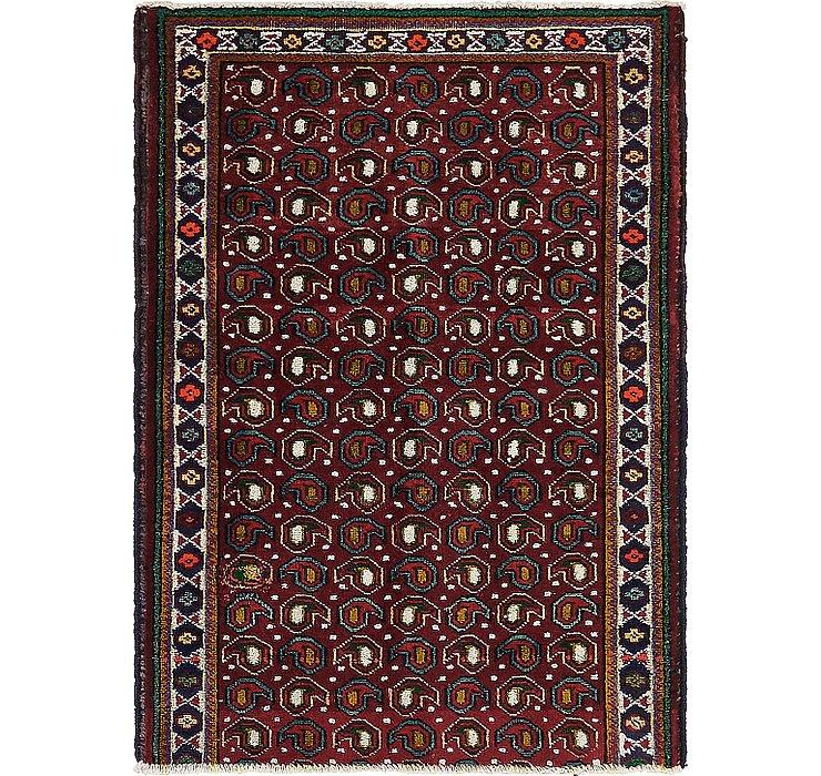 90cm x 130cm Tabriz Persian Rug
