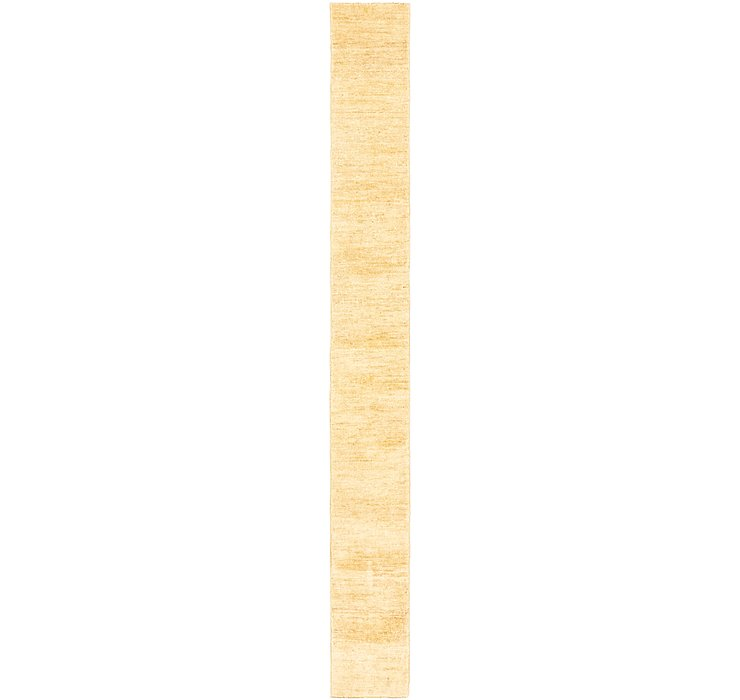 0' 9 x 7' 4 Modern Ziegler Runner Rug