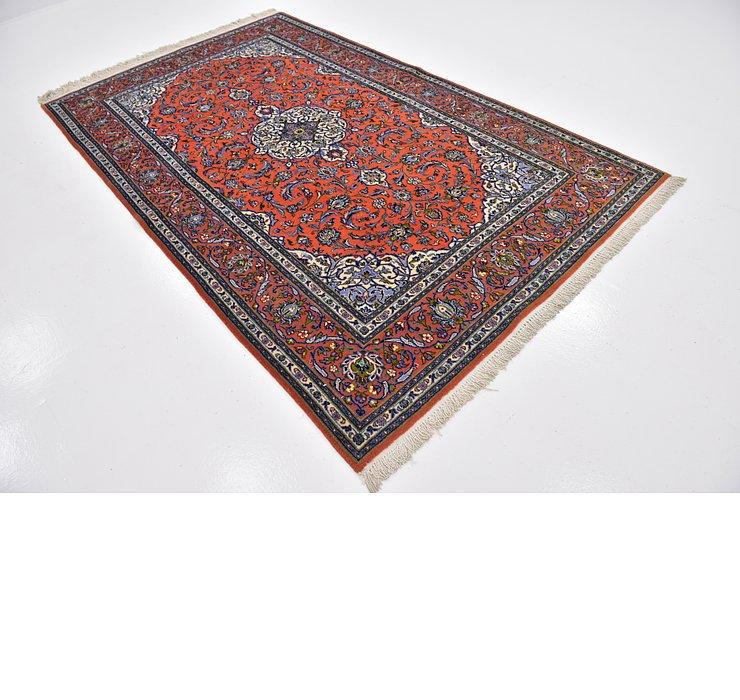 5' x 8' 6 Kashan Persian Rug