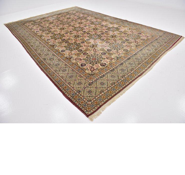 8' 7 x 12' 8 Isfahan Persian Rug