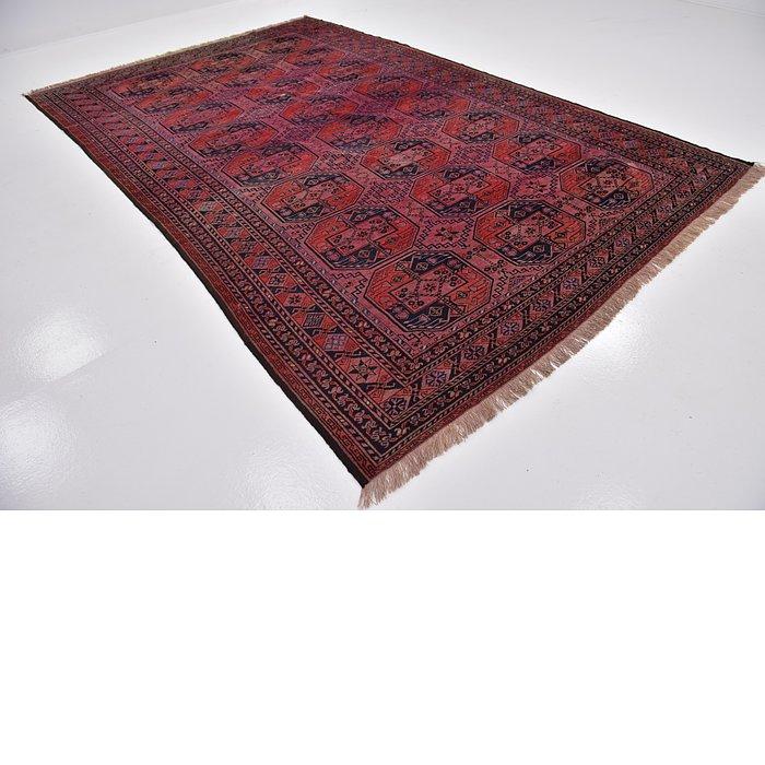 8' 2 x 11' Afghan Akhche Oriental ...