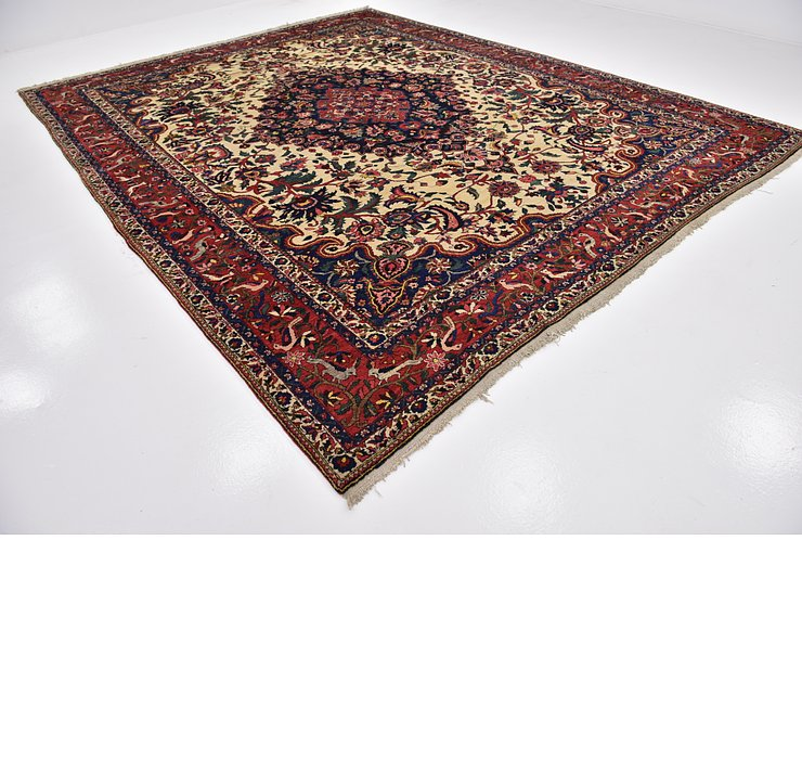 HandKnotted 10' 8 x 13' 6 Bakhtiar Persian Rug