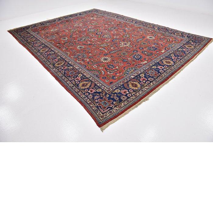 9' 9 x 12' 10 Sarough Persian Rug