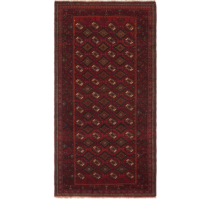 5' x 9' 10 Shiraz Persian Runner Rug