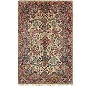Link to 4' 7 x 7' Kerman Persian Rug