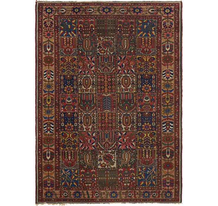 7' 4 x 10' 2 Bakhtiar Persian Rug