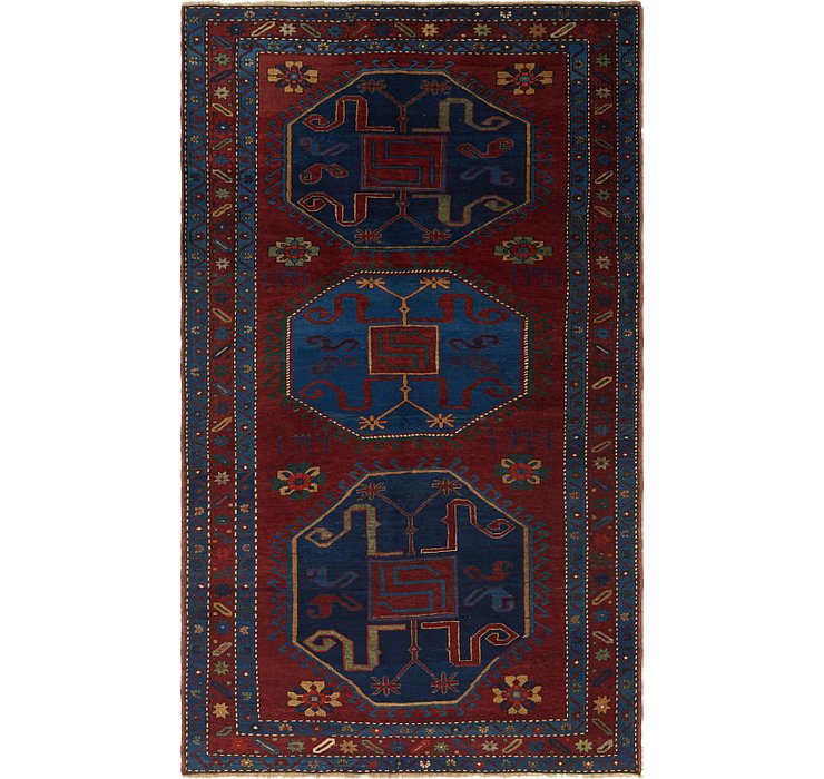 HandKnotted 5' 4 x 9' 2 Kars Rug