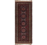 Link to 3' 10 x 9' 7 Shiraz Persian Runner Rug