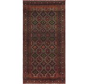 Link to 4' 9 x 9' 8 Shiraz Persian Runner Rug