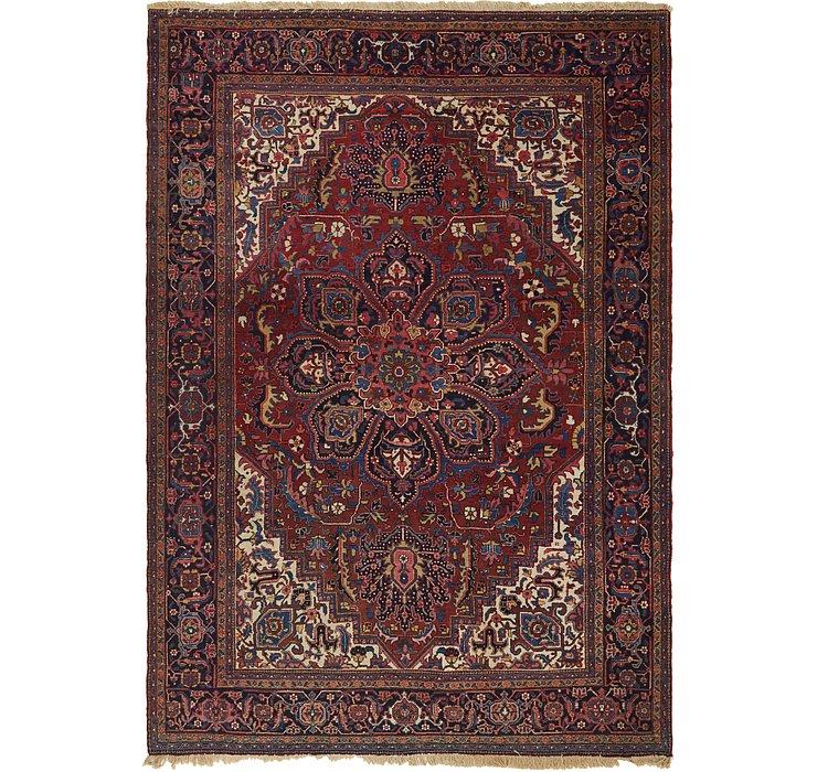 8' 4 x 12' Heriz Persian Rug