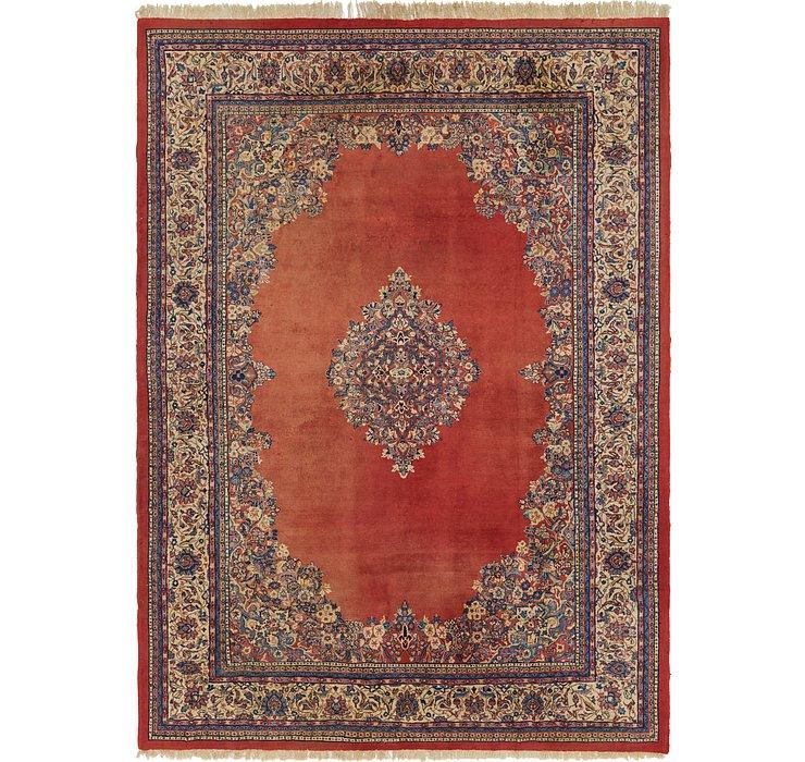 9' x 12' 6 Farahan Persian Rug