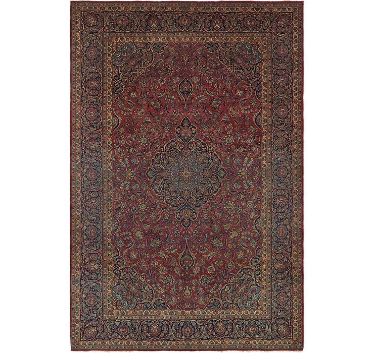 7' x 10' 10 Kashan Persian Rug