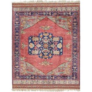 7' x 8' 8 Sirjan Persian Rug