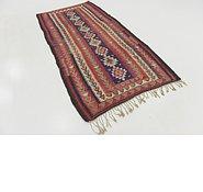 Link to 4' 5 x 9' Kilim Fars Runner Rug