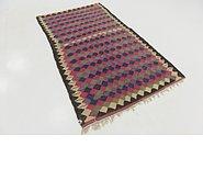 Link to 4' 6 x 8' Kilim Fars Rug
