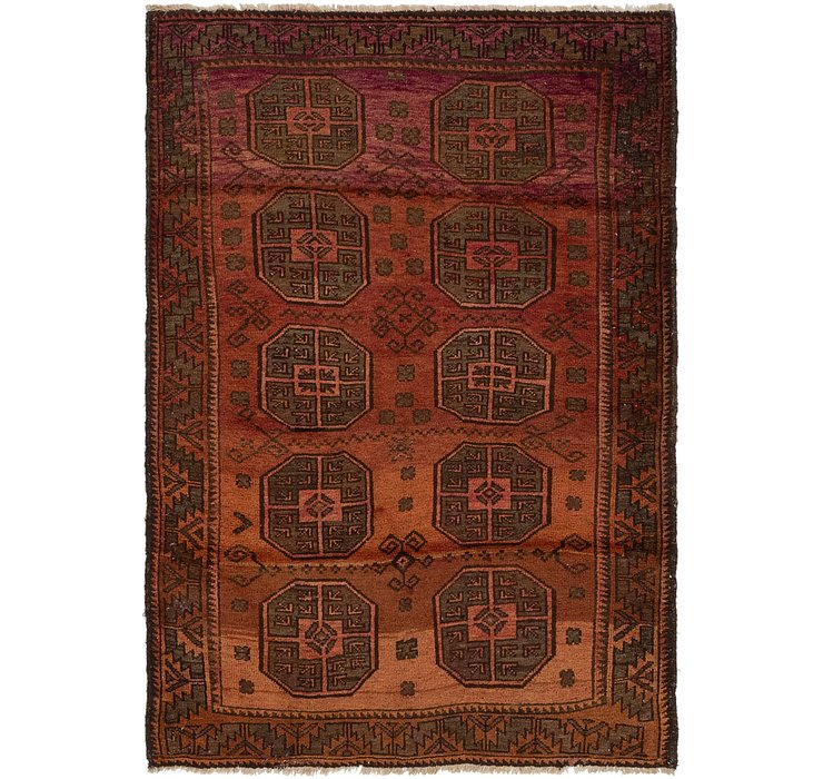4' 3 x 6' Shiraz Persian Rug