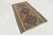 Link to 4' 2 x 7' 7 Kilim Fars Runner Rug