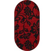 Link to 5' x 9' 10 Damask Oval Rug