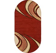 Link to 6' 7 x 13' 2 Reproduction Gabbeh Oval Rug