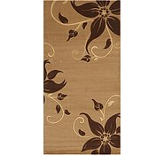 Link to 6' 7 x 13' 2 Damask Runner Rug
