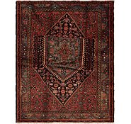 Link to 137cm x 173cm Ghoochan Persian Rug