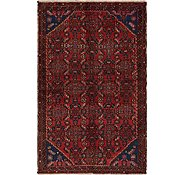 Link to 3' 5 x 5' 6 Hossainabad Persian Rug