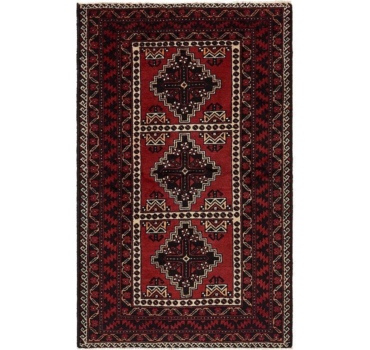 4' x 6' 4 Chenar Persian Rug