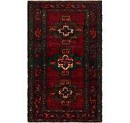 Link to 4' 8 x 7' 9 Meshkin Persian Rug
