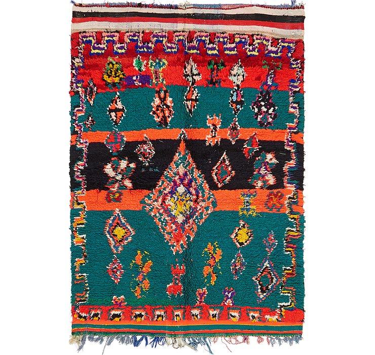 4' 2 x 6' Moroccan Rug