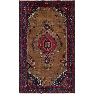 Unique Loom 4' 4 x 7' 4 Koliaei Persian Rug