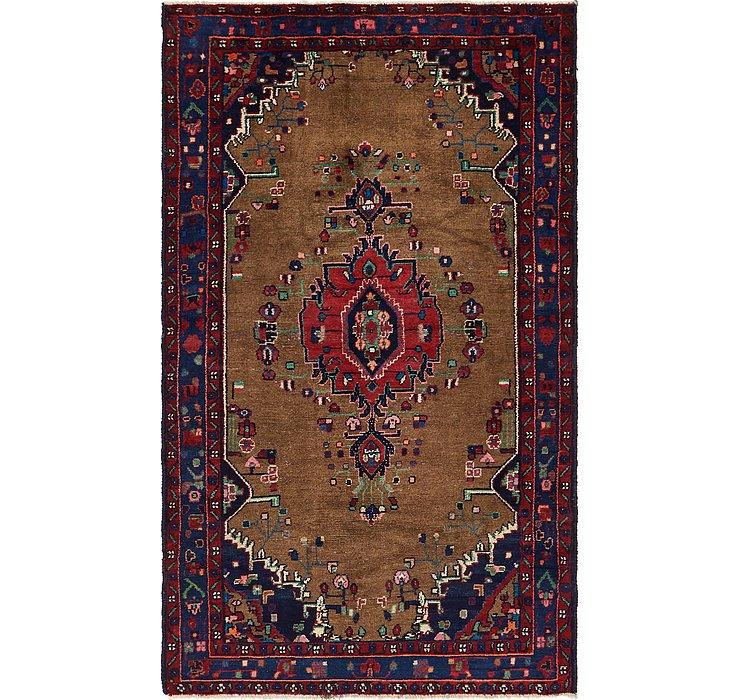 4' 4 x 7' 4 Koliaei Persian Rug