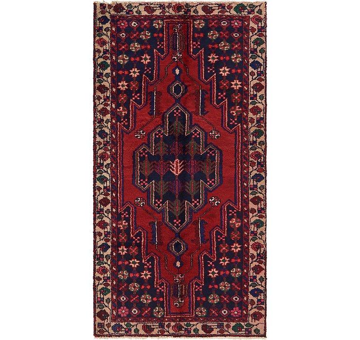 3' 9 x 7' 5 Hamedan Persian Rug